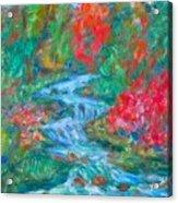 Dream Creek Acrylic Print