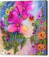 Dream Flowers Acrylic Print