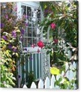 Dream Garden Acrylic Print