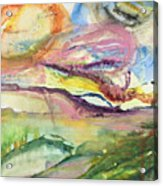 Dream Landscape Acrylic Print