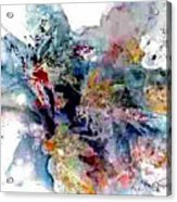 Dream Leaves Acrylic Print