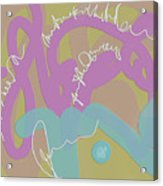 Dream Message Acrylic Print