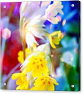 Dream Of Yellow Flowers Acrylic Print