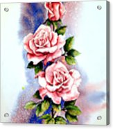 Dream Roses Acrylic Print