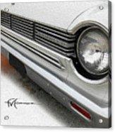 Rambler Closeup Acrylic Print