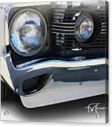 Amx In Your Face Acrylic Print