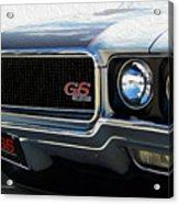 Buick With Gas Acrylic Print