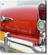 Buick Reflecting Acrylic Print