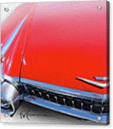 Whole Lot Of Red Acrylic Print