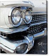 Candid Cadillac Acrylic Print
