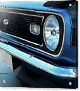 Blue Ss Acrylic Print