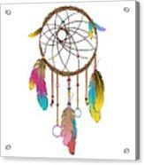 Dreamcatcher Rainbow Acrylic Print