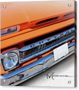 Dream_chevy107 Acrylic Print