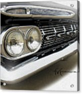 Dream_chevy185 Acrylic Print