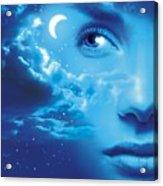 Dreaming, Conceptual Image Acrylic Print