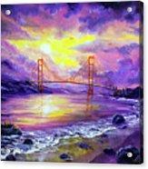 Dreaming Of San Francisco Acrylic Print