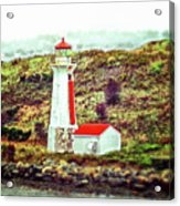 Dreaming Of The Georges Island Light In Halifax Acrylic Print