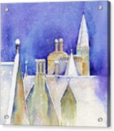 Dreaming Spires Acrylic Print