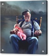 Dreaming With Grandpa Acrylic Print