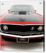 Dream_mustang42 Acrylic Print