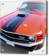 Dream_mustang48 Acrylic Print