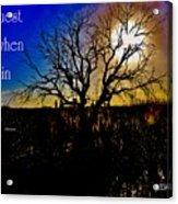 Dreams Awake Acrylic Print