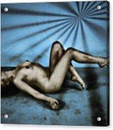 Dreams In Blue Acrylic Print