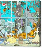 Dreams Of Fish Acrylic Print