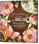 Dreams - Thoreau Acrylic Print