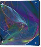 Dreamy Blue Acrylic Print