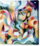 Dreamy Fairyland Acrylic Print