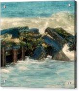 Dreamy Jetty - Jersey Shore Acrylic Print