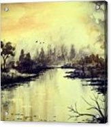 Dreamy Lake Acrylic Print