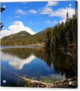 Dreamy Lake In The Rockies Acrylic Print