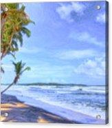 Dreamy Manzanilla Acrylic Print