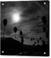 Dreamy Moon Acrylic Print