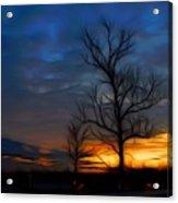 Dreamy Sunset Acrylic Print by Ella Char