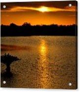 Dreamy Sunset Acrylic Print