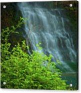 Dreamy Waterfalls Acrylic Print by Iris Greenwell