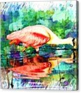 Dredging Acrylic Print