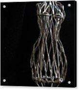 Dressmaker Form Acrylic Print