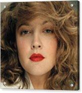 Drew Barrymore Acrylic Print