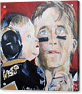 Drew Brees And Son  Acrylic Print