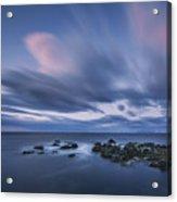 Drifting Clouds I Acrylic Print