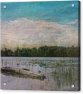 Drifting Downstream Acrylic Print