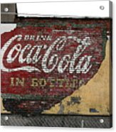 Drink Coca Cola In Bottles 2 Acrylic Print