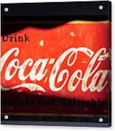 Drink Coke Acrylic Print