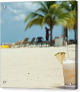 Drink In The Sand Acrylic Print