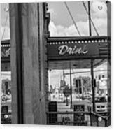Drink Sign In Fargo Nd Acrylic Print