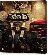 Drive In Acrylic Print